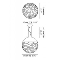 Hanglamp Kelly Large Sphere 80