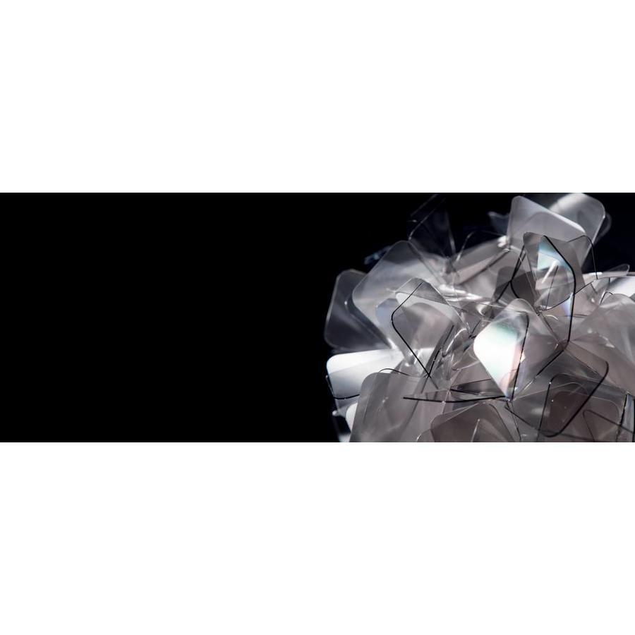 Wand-/plafondlamp Clizia Large Fumé