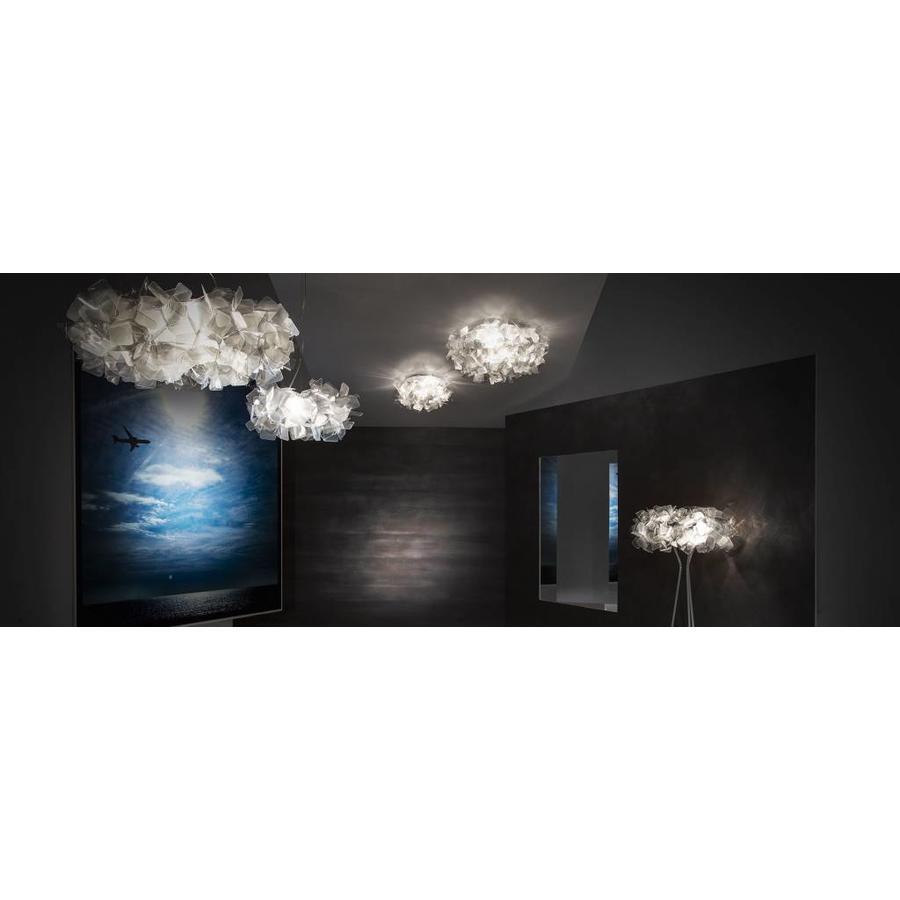 Wand-/plafondlamp Clizia Medium Fumé
