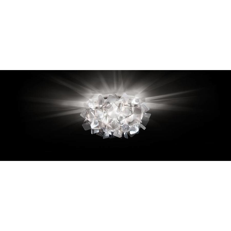 Wand-/plafondlamp Clizia Mini Fumé