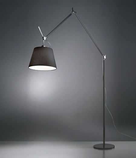 Tolomeo Terra Mega Zwart LED