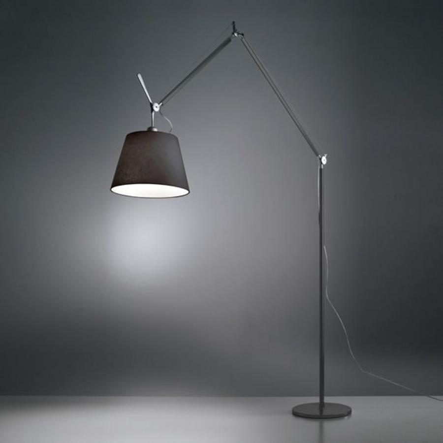 Vloerlamp Tolomeo Mega Zwart LED