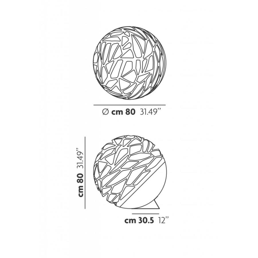 Tafel-/vloerlamp Kelly Large Sphere