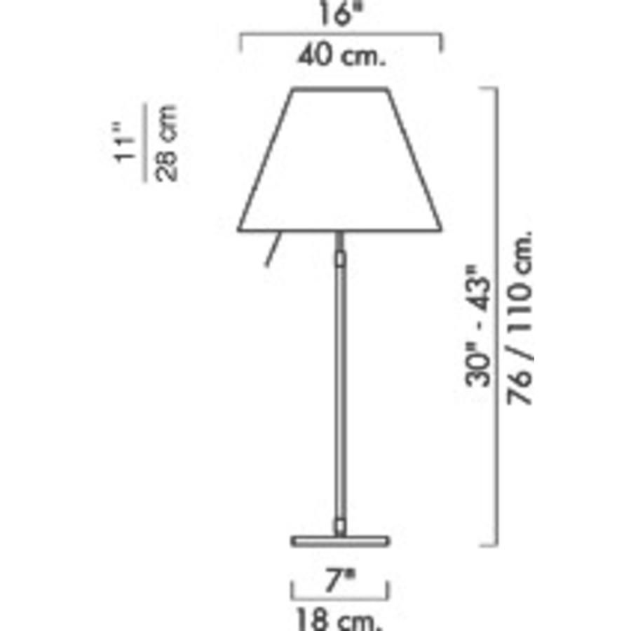 Tafellamp Costanza
