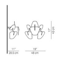 Wandlamp Hope Ø 48 cm