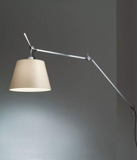 Artemide Wandlamp Tolomeo Mega Aluminium LED
