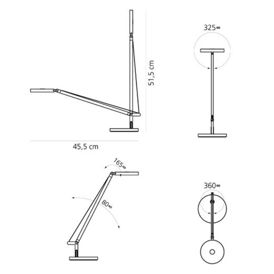 Tafellamp Demetra Micro LED