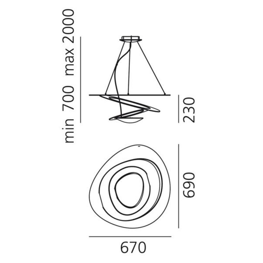 Hanglamp Pirce Mini Halogeen