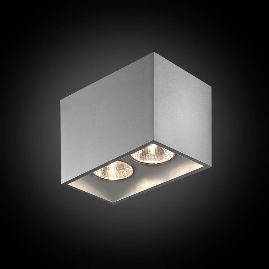 2-lichts Opbouwspot Pure 2/100 - GU10 - 230V