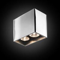 2-lichts Opbouwspot Pure 2/125 - GU10 - 230V