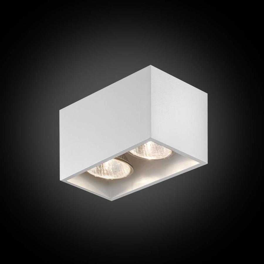 2-lichts Opbouwspot Pure 2/75 - GU10 - 230V