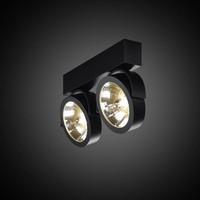 2-lichts Opbouwspot Zoom 2