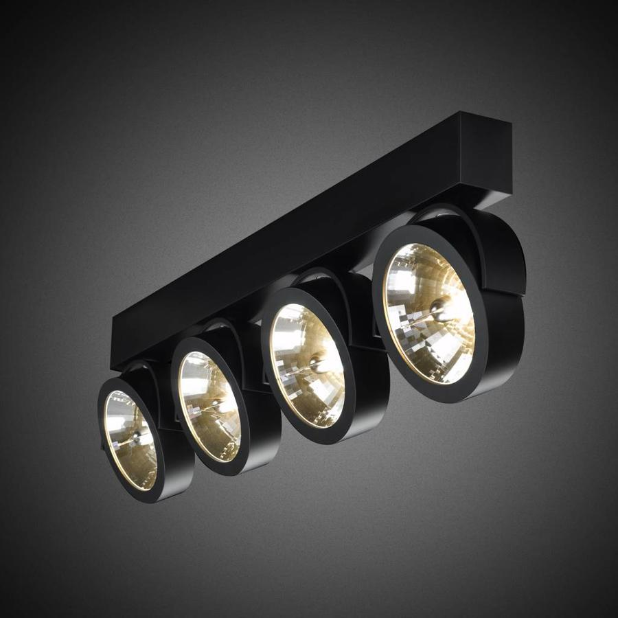 4-lichts Opbouwspot Zoom 4 LED