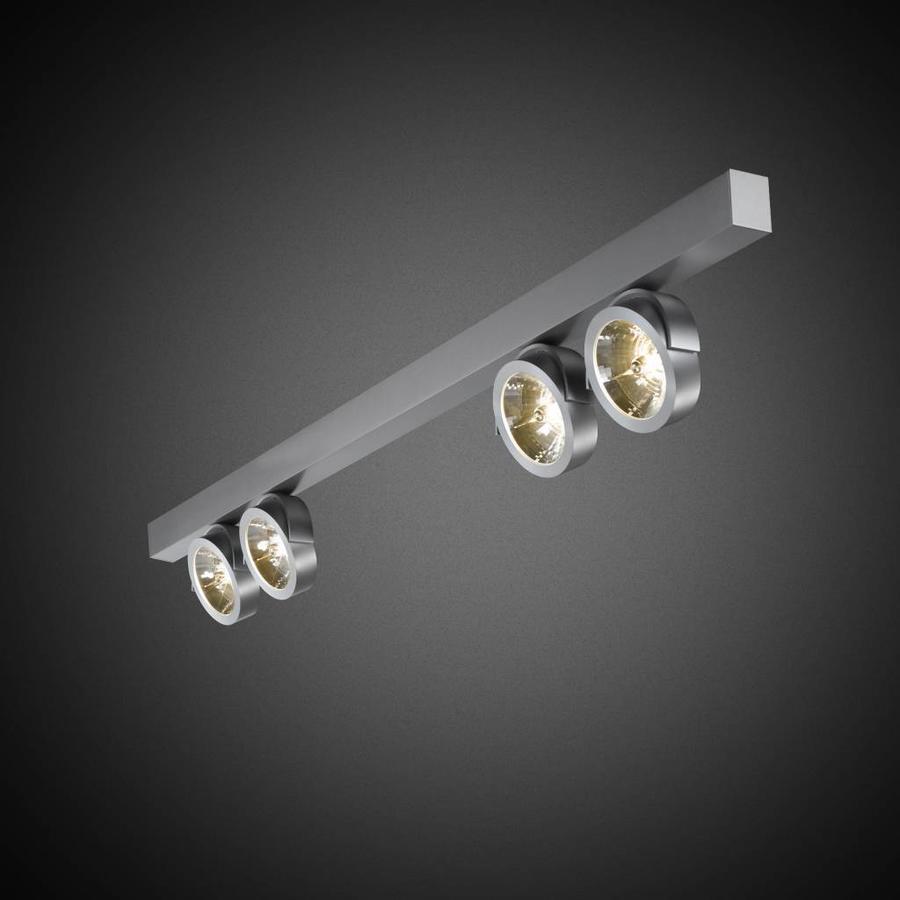 4-lichts Opbouwspot Zoom 4L LED