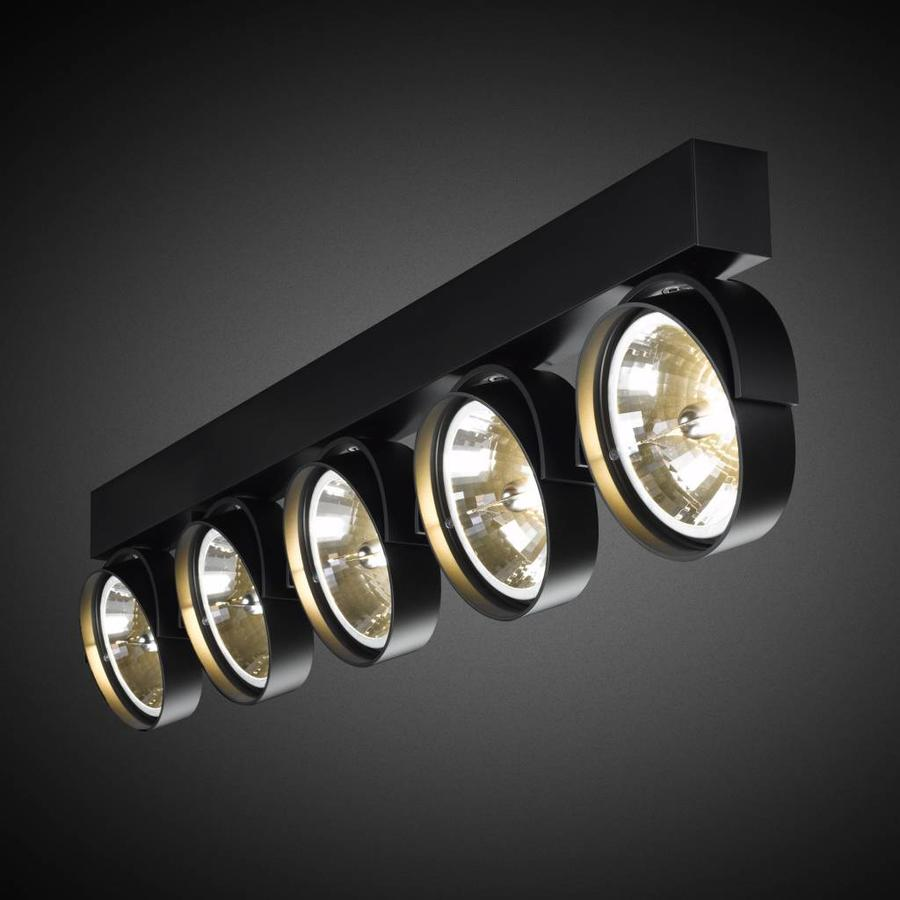 5-lichts Opbouwspot Zoom 5 LED