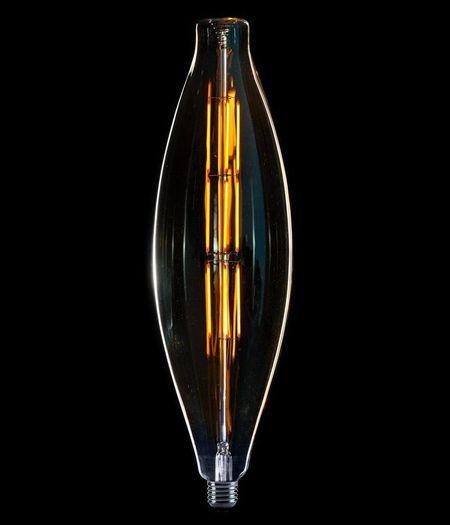 LED XXL Elips Filament E27 8W - dimbaar