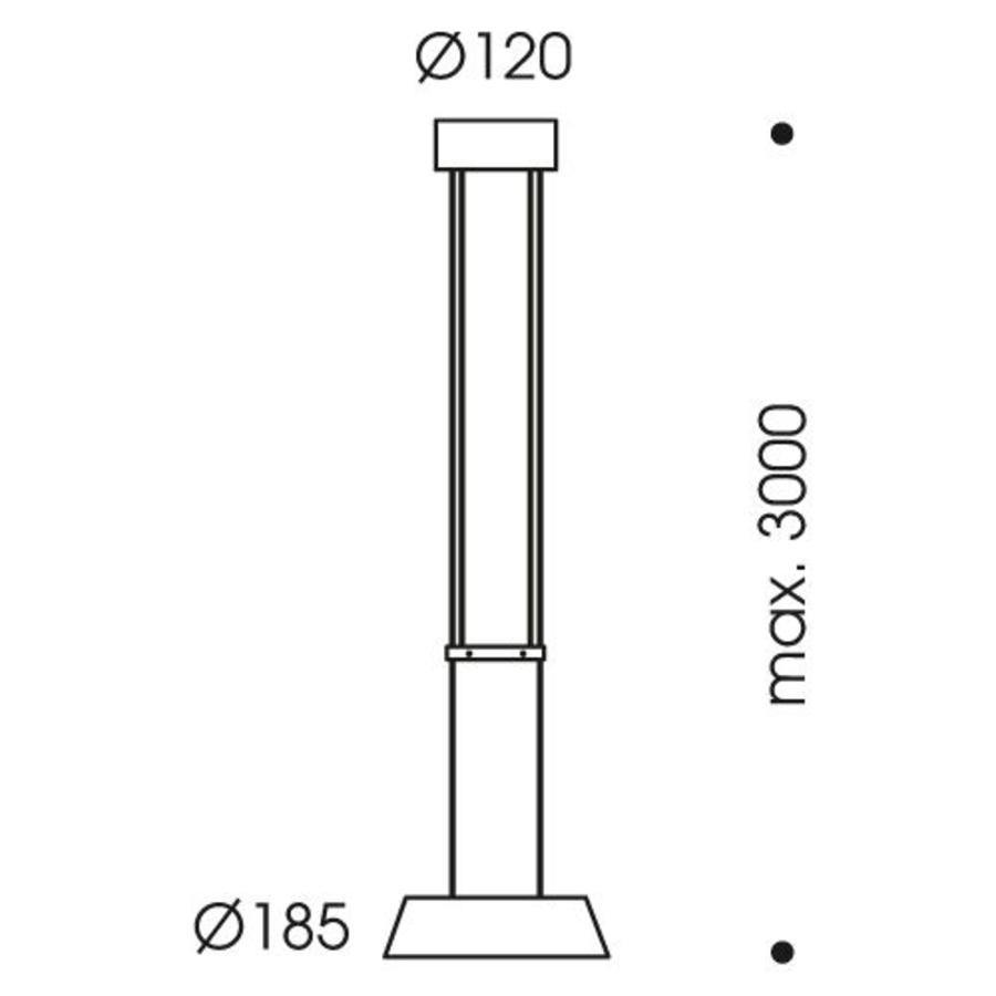 Hanglamp Glance 1-lichts