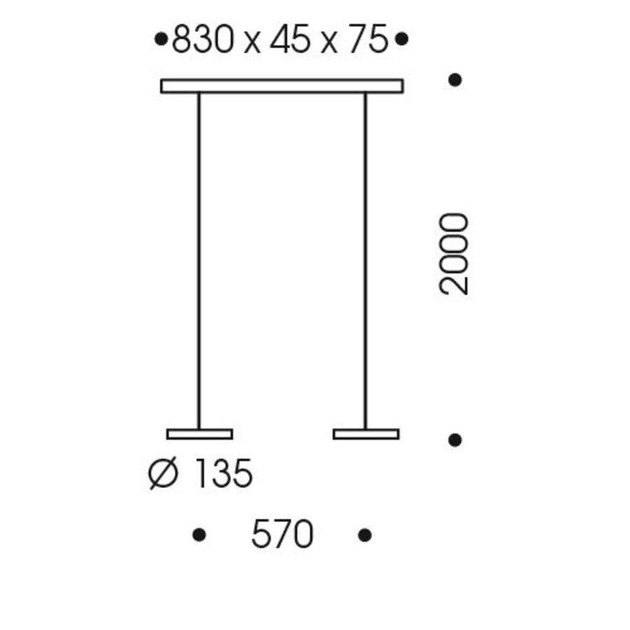 2-lichts Hanglamp Decent