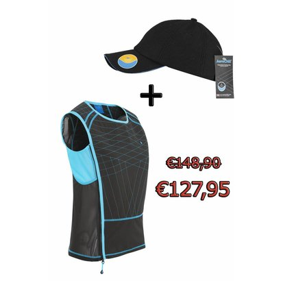 Aerochill Fitness cooling vest Female+ Aerochill coolingcap