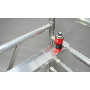 ASC ® Werkzeugablage / Werkzeugbank für ASC Rollgerüste 2,50 m
