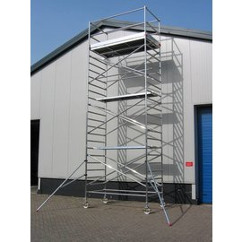 ASC ® Alu-Rollgerüst 135-250 bis 7,30 m, Profi