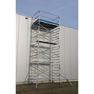 ASC ® Alu-Rollgerüst 135-250 bis 7,30 m, Profi-Gerüst nach N-EN 1004 & 1298