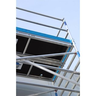 ASC ® Alu-Rollgerüst 135-250 bis 5,30 m, Profi-Gerüst nach N-EN 1004 & 1298