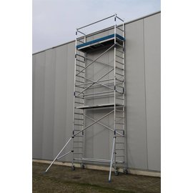 ASC ® Alu-Rollgerüst 75-305 bis 7,30 m, Profi