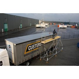 CUSTERS ® Eisfrei-Gerüst / Enteisungsgerüst für LKW, 3,10 m Länge
