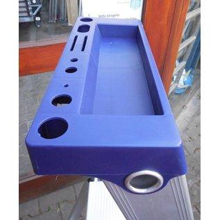 ASC ® Trittleiter / Klapptritt 1 x 7 mit Werkzeugablage