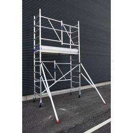 ASC ® Zimmerfahrgerüst, ZiFa, Klappgerüst mit Luke, 5,70 m, Modul 4