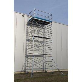 ASC ® Alu-Rollgerüst 135-305 bis 7,30 m, Profi