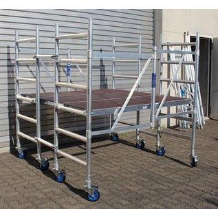 ASC ® Kombi-Rollbock XL, 4 Gerüste in Einem, ZiFa, Rollgerüst, Montagebühne und große Arbeitsplattform