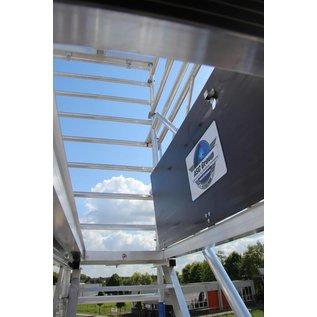 ASC ® Treppenturm, Gerüstturm mit 250 cm Plattformlänge, 135er Rahmenbreite