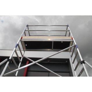 ASC ® Alu-Rollgerüst 75-200 bis 5,30 m Arbeitshöhe, Profi-Gerüst nach N-EN 1004 & 1298, TÜV/GS
