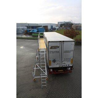 CUSTERS ® Eisfrei-Gerüst / Enteisungsgerüst für LKW, 12,40 m Länge