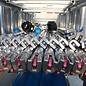 ASC ® ASC Gerüstanhänger, abschließbar,  inkl. Gerüst bis 12,30 m, 75er Rahmen, zum komfortablen Gerüsttransport, 100 km/h-Zulassung möglich