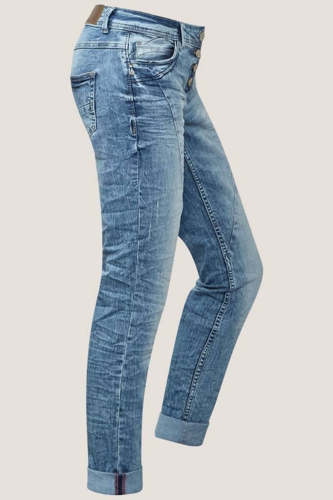 lichte kreukeljeans scarlett poker jeans eshop. Black Bedroom Furniture Sets. Home Design Ideas