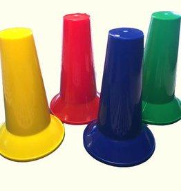 4 pionnen in DISC kleuren