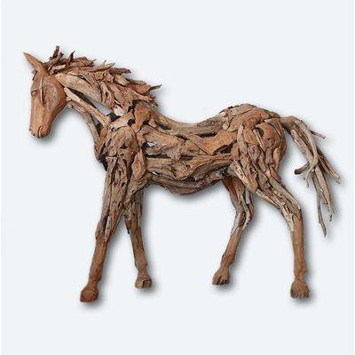 Teak Pferd