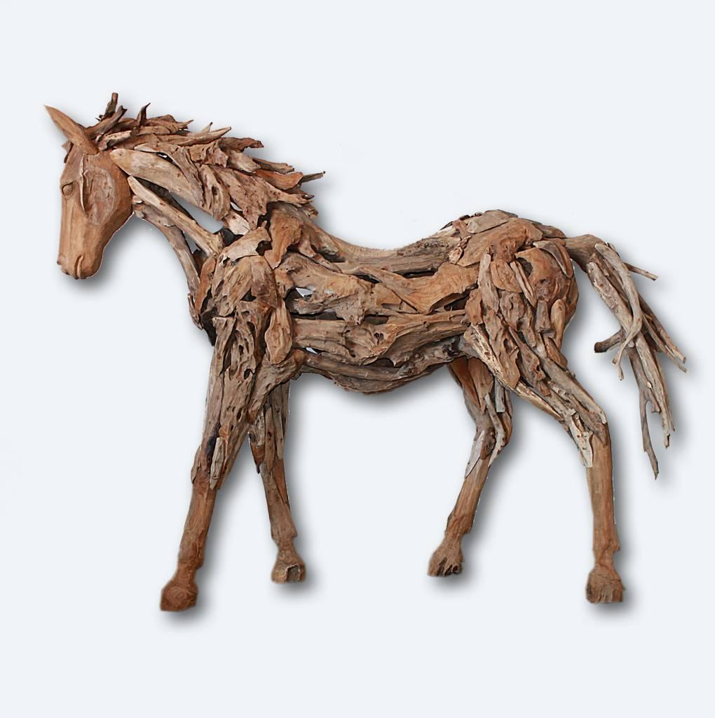 Allermöbel Teak Pferd