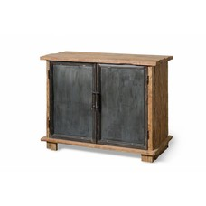 Teak Sideboard Flintstone mit Metall - 120cm