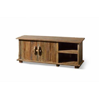 teak tv m bel flintstone 159cm allerm bel. Black Bedroom Furniture Sets. Home Design Ideas