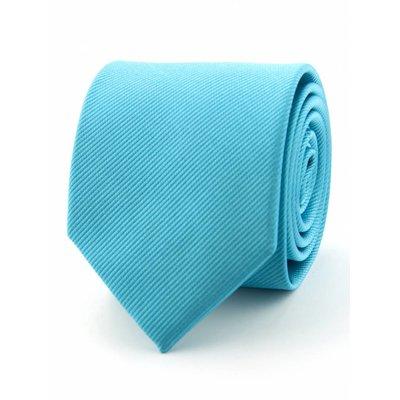 Zijde stropdas turquoise