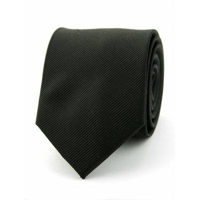 Zijde stropdas zwart