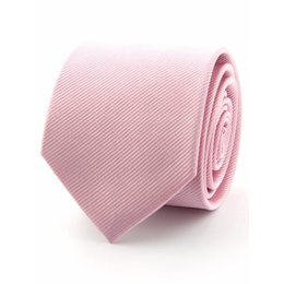 Zijde stropdas roze