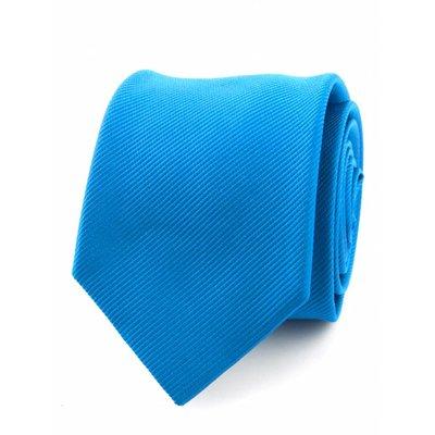 Zijde stropdas process blue