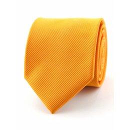 Zijde stropdas oranje