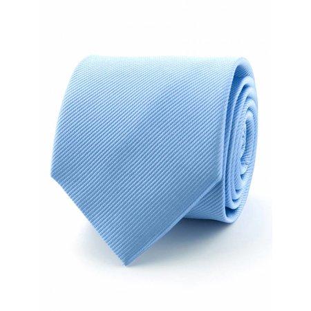 Zijde stropdas lichtblauw