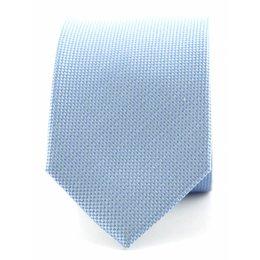 Stropdas lichtblauw zuiver zijde